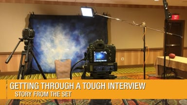 Getting through a Tough Video Interview