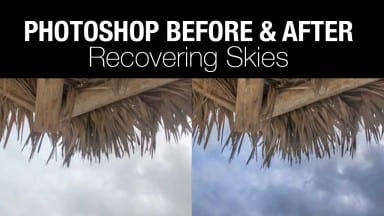 Recovering Skies in Photoshop