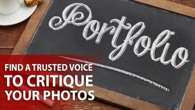 Find a Trusted Voice to Critique your Photos