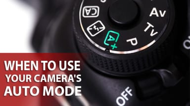 When to Use Your Camera's Auto Mode
