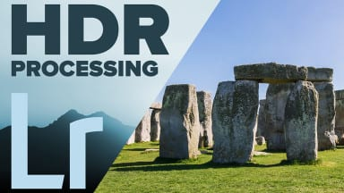HDR in Adobe Photoshop Lightroom CC