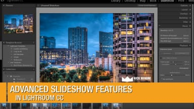 Advanced Slideshow Features in Lightroom CC