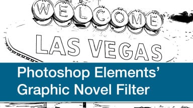 Photoshop Elements' Graphic Novel Filter