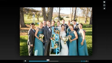 Slideshows and Weddings