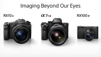 Sony announces the A7R II, RX100 IV, & RX10 II
