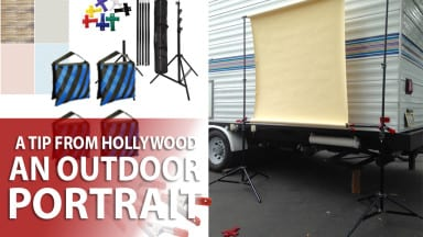 A Tip from Hollywood: Outdoor Portrait