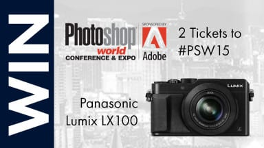 Time is Running Out — Last Chance to Win a LUMIX camera and tickets to Photoshop World