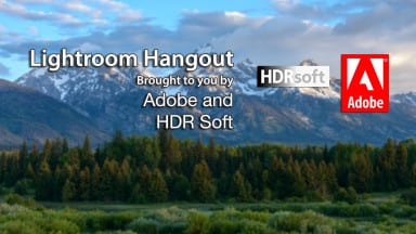 Join us for Our Next Lightroom Hangout on 8/25 and Win