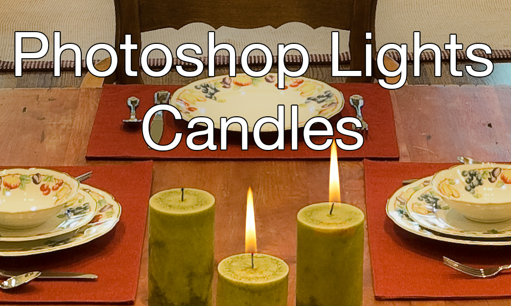 Photoshop Lights Candles