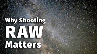 Why Shooting Raw Matters
