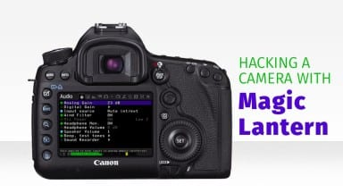 Hacking a Canon Camera with Magic Lantern Menus