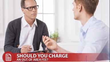Should you Charge an Out of Area Fee for Jobs on the Road?