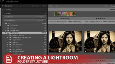 Creating a Lightroom Folder Structure