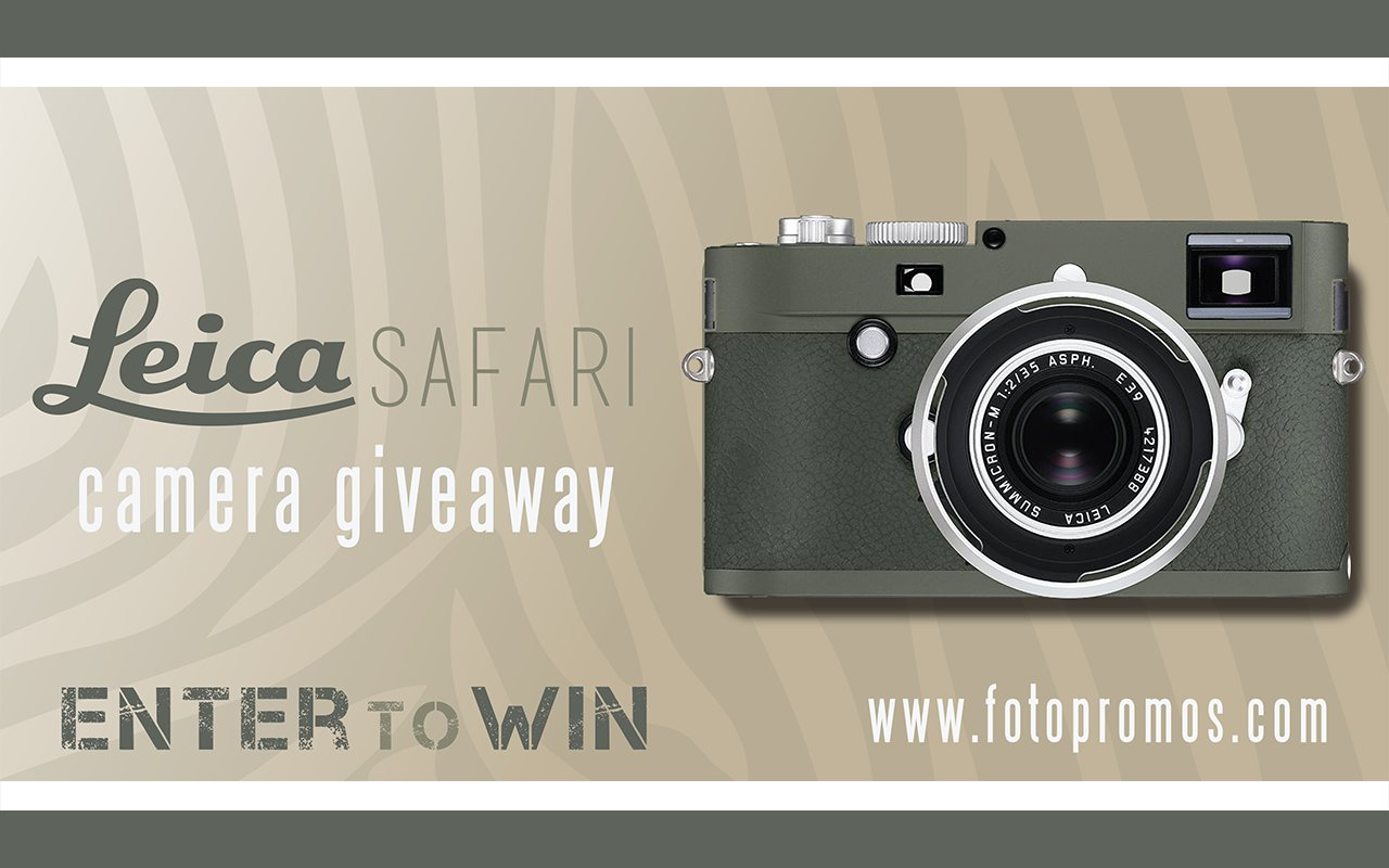 Would You Like to Win a Leica M-P Digital Rangefinder Camera ...