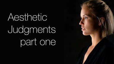 Aesthetic Judgements: Lighting & Exposure