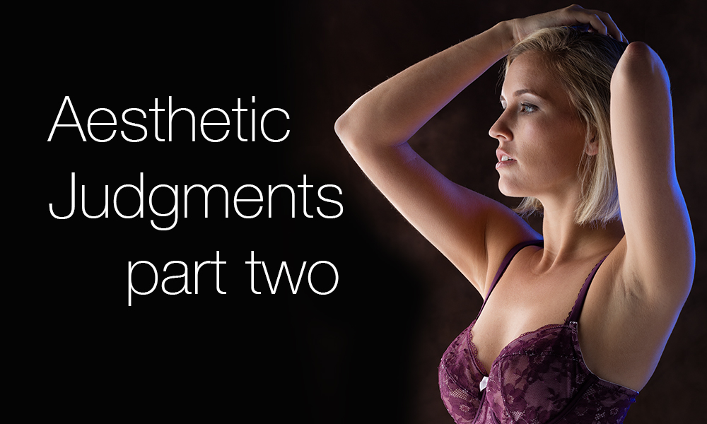 2015-10-07 Aesthetic Judgments part one