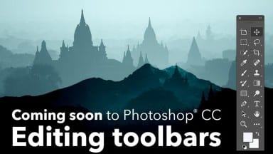 Coming Soon to Photoshop: Editable Toolbars