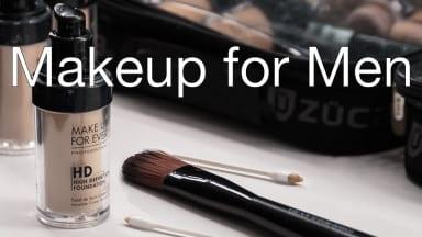 Makeup for Men: Making Better Portraits
