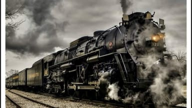 Photo of the Day: 1225 Polar Express