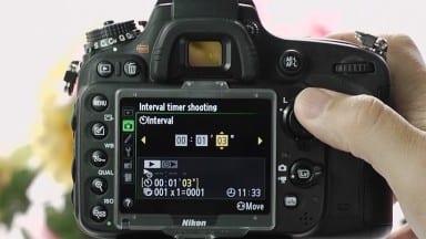 Recording a Timelapse on a Nikon Camera