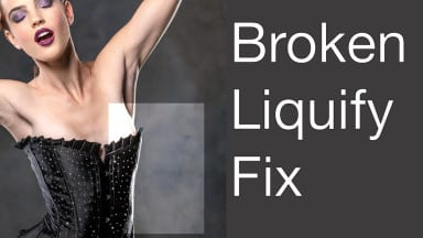 Workarounds for Broken Liquify  in Photoshop CC 2015.1