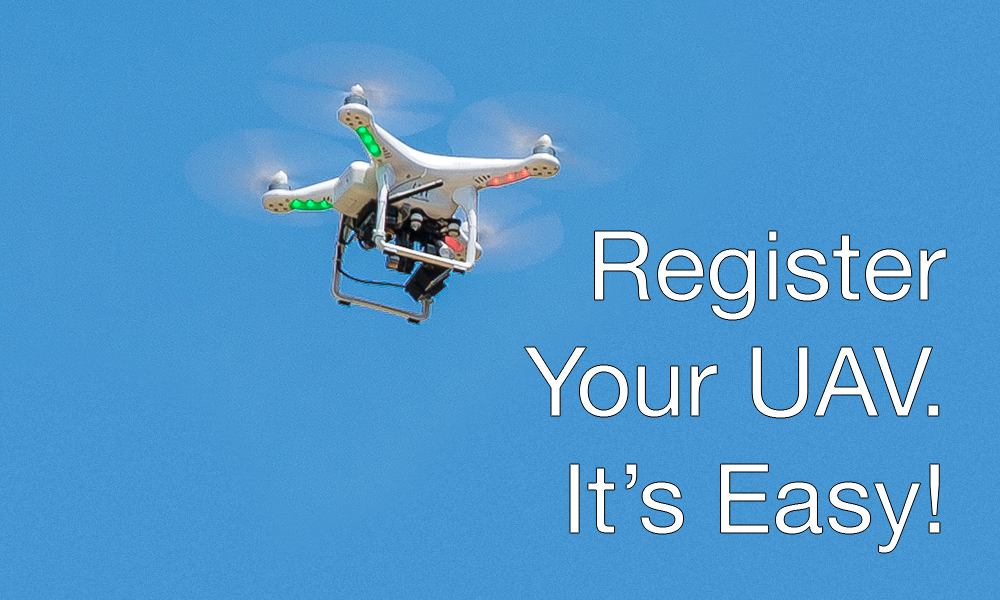 2015-12-21 Register your Drone. It's Easy