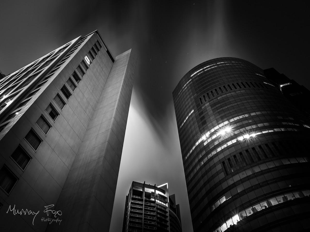 Brisbane by Night - Murray Fox