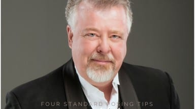 Four Tips to Standard Portrait Headshot Posing