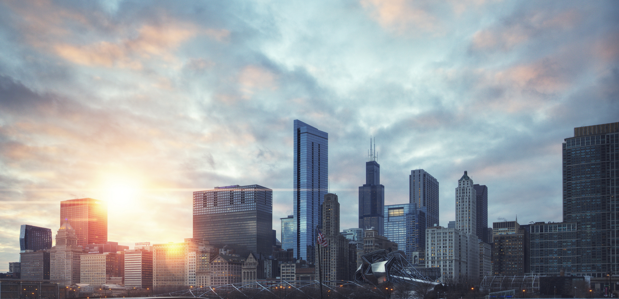 Jeremy VanderMeer - Chicago Sunset