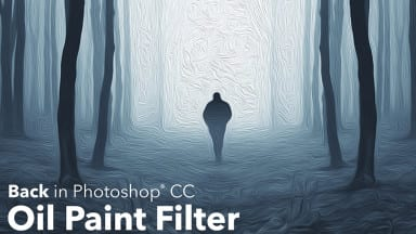 The Oil Paint filter is back in Photoshop!