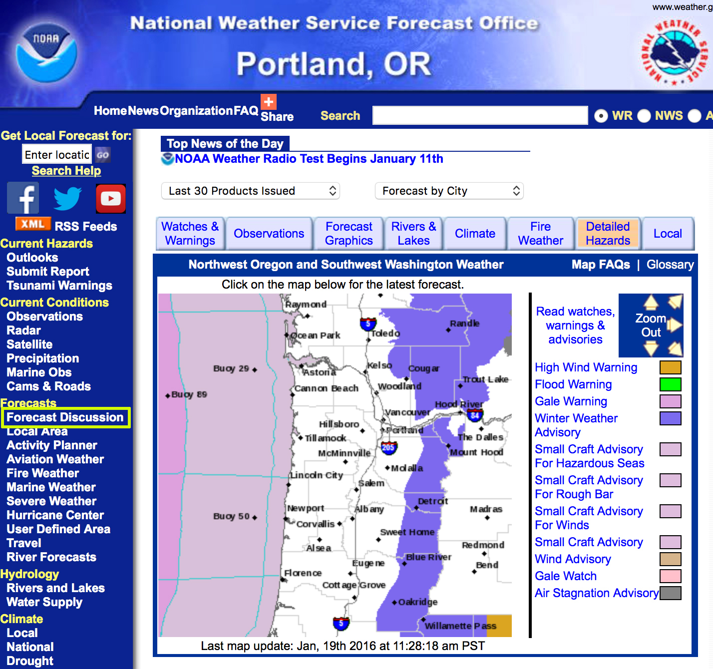 PDX NWS