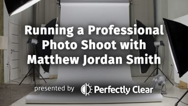 Free Webinar: Running a Professional Photo Shoot with Matthew Jordan Smith
