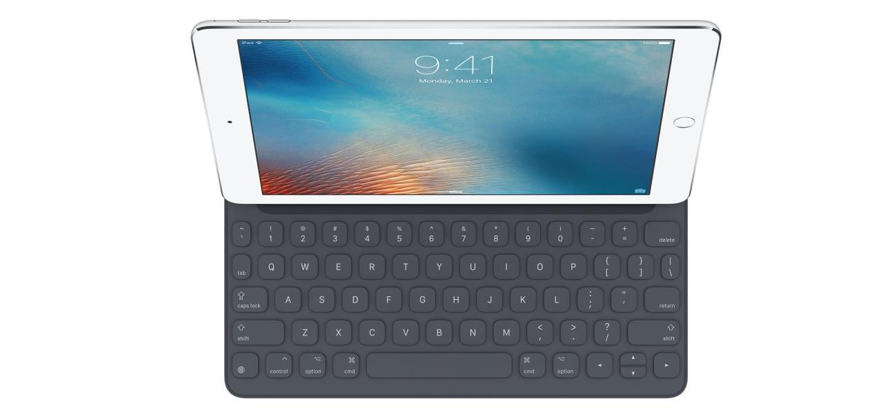 iPad with Keys