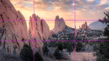 3 Easy Ways to Use the Rule of Thirds