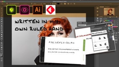 Creating You Own Font with Adobe Shape, Adobe Illustrator and FontSelf