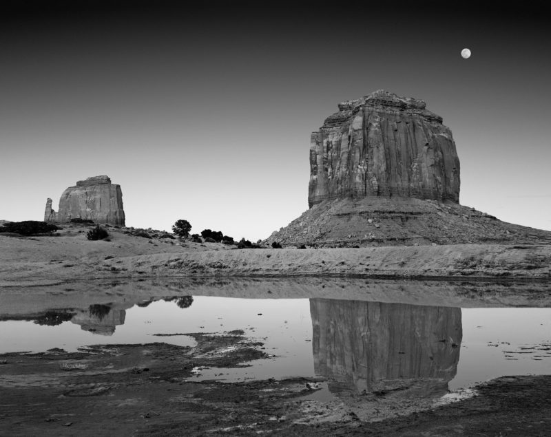 Moonrise, Monument Valley, AZ, by Huntington Witherill