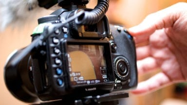 Advice When Shooting Video to a Memory Card