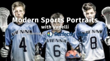 Live: Modern Sports Portraits with Vanelli