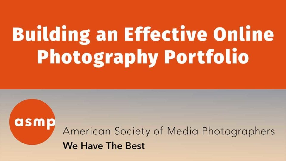Building An Effective Online Portfolio Webinar