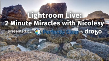 Lightroom Live: 2 Minute Miracles with Nicolesy