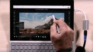 Animating Photos with the New Plotagraph Pro on a Microsoft Surface