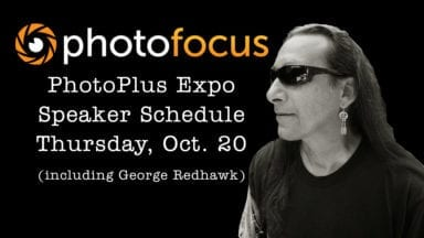 Live Speaker Schedule for Thursday at Photo Plus Expo