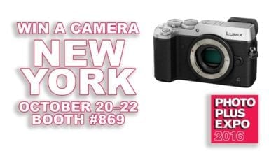 Win a Camera at Photo Plus Expo