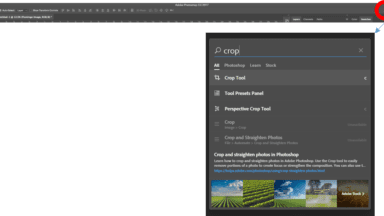 Photoshop CC (November 2016) Adds New In-App Search Tool