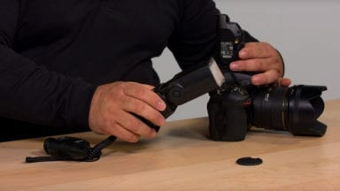 Quick Tip: Use Single-Shot Mode when Shooting with Lights