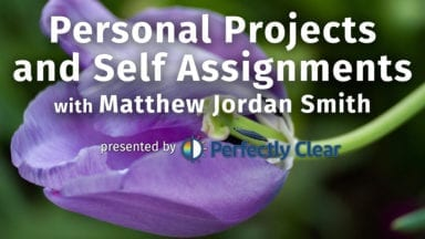 Live Webinar: Personal Projects with Matthew Jordan Smith