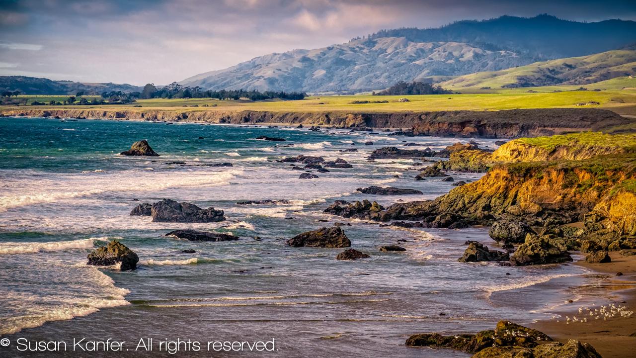 Coastline, Central Coast