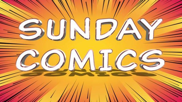 Sunday Comics: Pro shopping