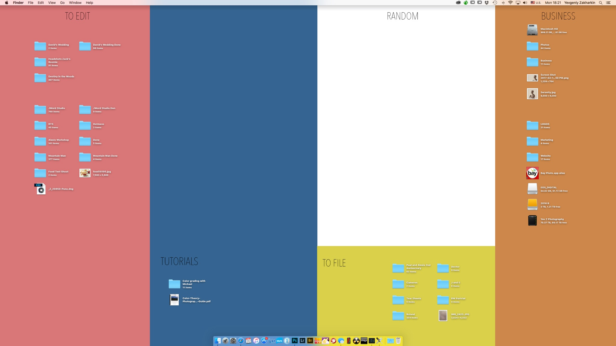 A Simple Way To Add Some Organization Your Desktop