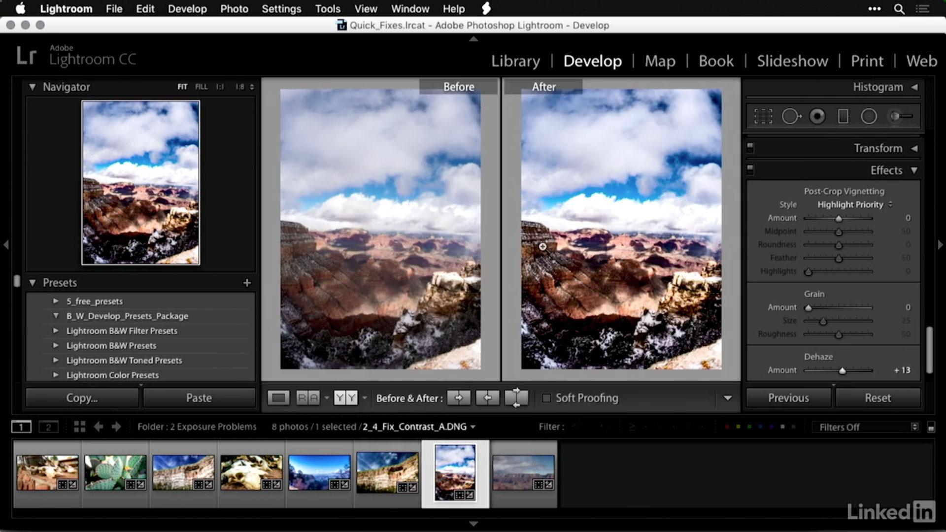 Photofocus | How do I fix a photo that lacks contrast in Lightroom?